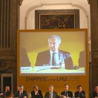 """Efthimios E. Mitropoulos: """"Recent developments in international shipping"""""""