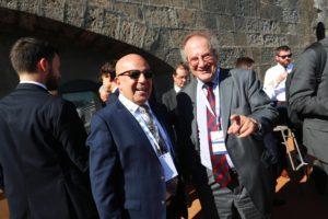 John Gauci Maistre con Jonathan Lux