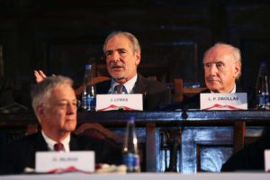 John C. Lyras, Leo Drollas, Hamish McRae